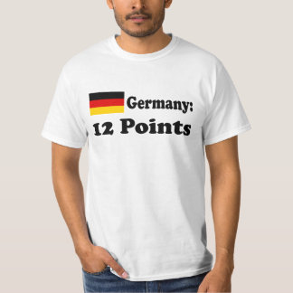 "T-shirt ""Germany 12 POINTs """