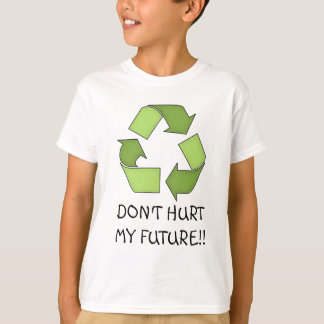 T Shirt-Go Green-Recycle T-Shirt
