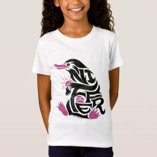 T-Shirt Graphique de typographie de Niffler