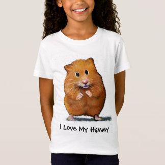 T-Shirt HAMSTER, j'aime la CHEMISE de mon ENFANT Hammy