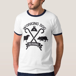 T-shirt Herding Working Dog Border collie