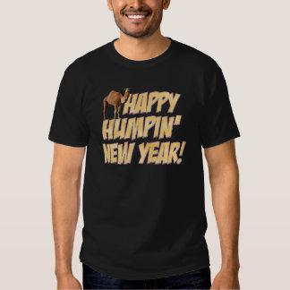 T-shirt heureux de partie de la nouvelle année