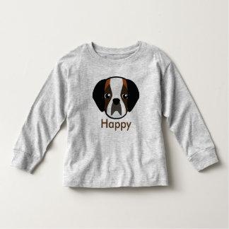 T-shirt heureux de Petory St Bernard