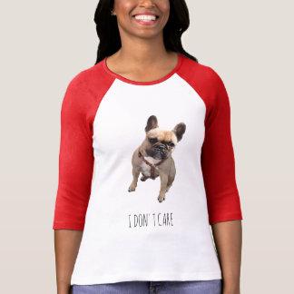 T-shirt I DON'T CARE