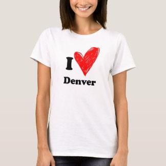 T-shirt I love Denver