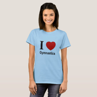 "T-shirt ""I love Gymnastics """