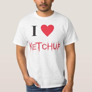 T-shirt I love ketchup