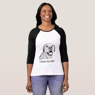 T-shirt - I love my lab