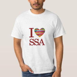 T-shirt I Love Salvador