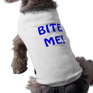 T-shirt impertinent de chiot manteaux pour chien