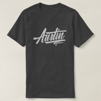 T-shirt Inscription d'Austin