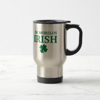 T-shirt irlandais fier de ville de la coutume De M Mug De Voyage En Acier Inoxydable