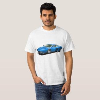 T-shirt italien bleu de Supercar