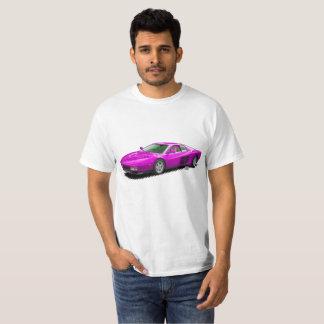 T-shirt italien de Supercar de roses indien
