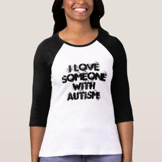 T-shirt J'aime quelqu'un avec l'AUTISME !