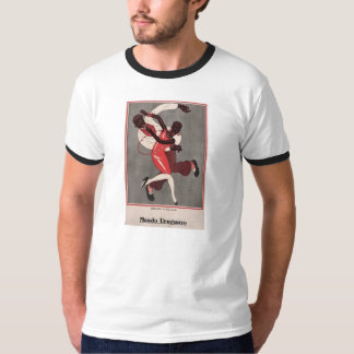 T-Shirt Jazz Dancing Black Americana 1920s