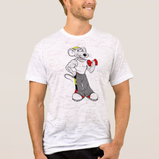 T-shirt Joust Muscular Rat