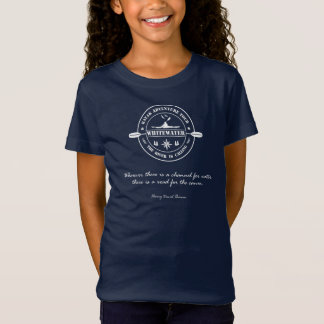 T-shirt. Kayak, Kayaking, Whitewater Paddling T-Shirt