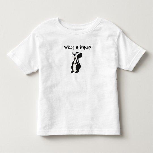 T-shirt Kid's Boys Skunk What Stinks