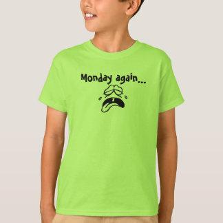 t-shirt,kids,monday again, cry T-Shirt
