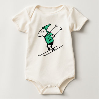 T-shirt kids skiing sports images