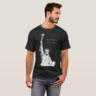 T-shirt La nouvelle torche de la liberté