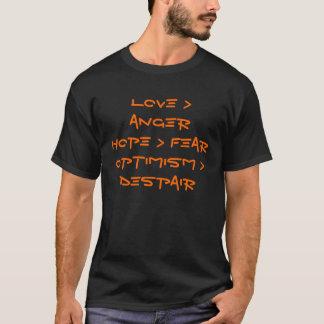 T-shirt La version de Jo du message de Jack