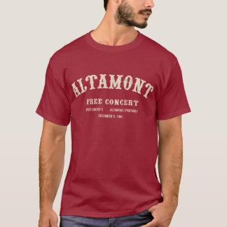 T-shirt l'altamont libèrent le concert