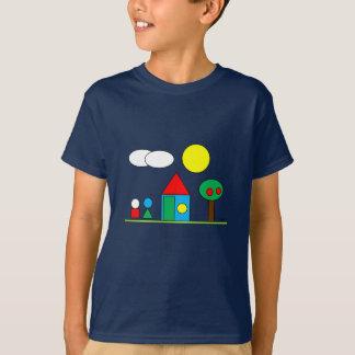T-shirt Landscape-i By Par3a