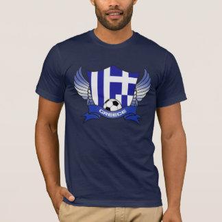 T-shirt Le football de la Grèce