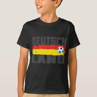 T-shirt Le football du Deutschland