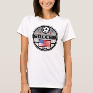 T-shirt Le football vivant Amérique d'amour