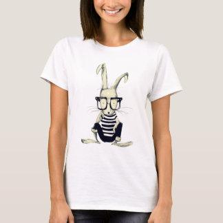 T-shirt Le lapin nerd