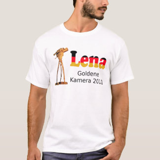 T-shirt Lena golden camera