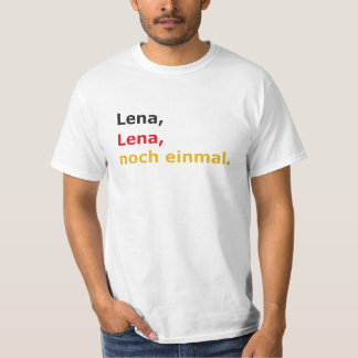 "T-shirt ""Lena, Lena, again """