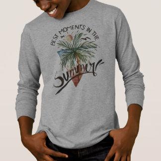 T-shirt Les meilleurs moments dans la chemise de douille