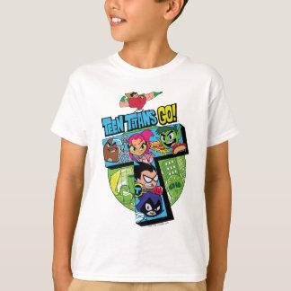 Teen Titans Go Raven Sous Licence Garçons /& Filles T-Shirt S-XL