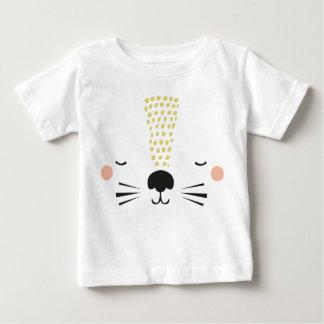 T-shirt lion mustard
