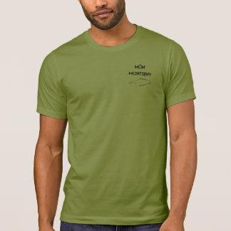 T-shirt Logo MonMontseny Verde