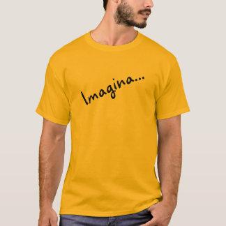 T-shirt long sleeve orange Imagines….