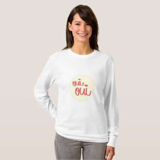 T-shirt Long Sleeve Oui Oui