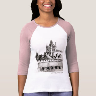 T-shirt long sleeve with drawing