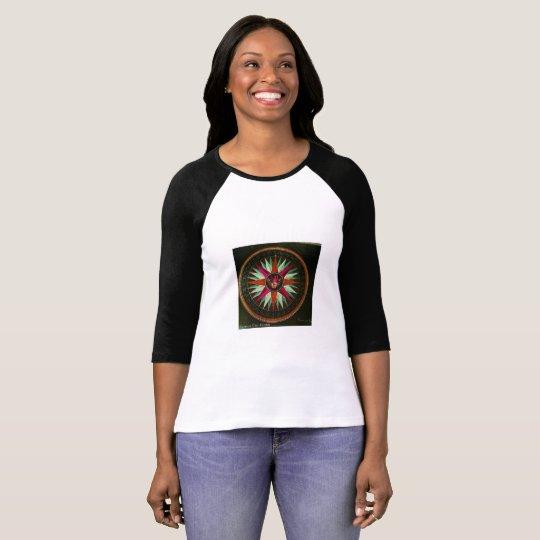 T-shirt long sleeve woman wind rose