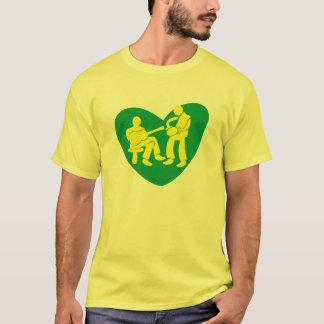 T-shirt LOVE TO the SAMBA