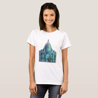 t-shirt mahal woman, taj
