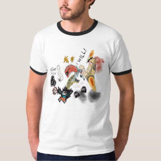 "T-shirt man ""I will find you"" wild black"