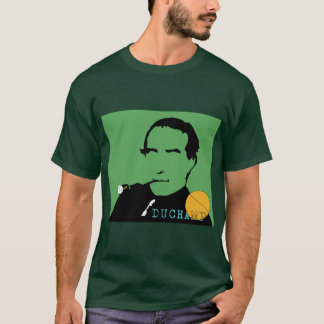 T-shirt man Marcel Duchamp