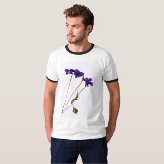 T.shirt man Violet T-Shirt