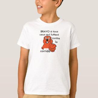 T-shirt marmotte anti corrida