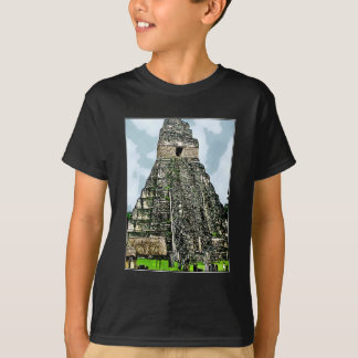 T-Shirt: Mayan Temple at Tikal, Guatemala T-Shirt
